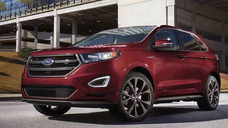 Ford Edge Used >> 2018 Ford Edge