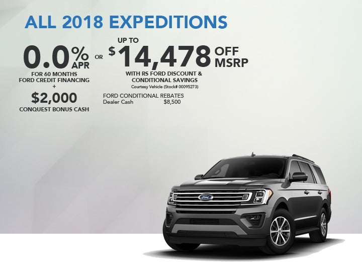 All 2018 Ford Expeditions